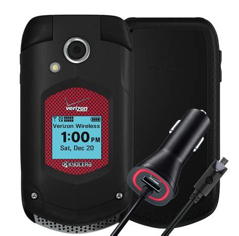 kyocera flip phone like new verizon wireless kyocera duraxv flip phone w