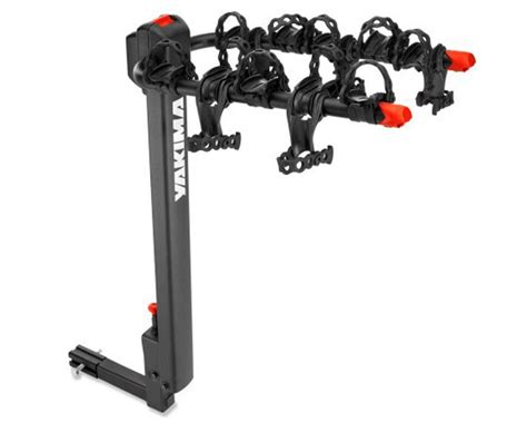 4 bike hitch rack yakima doubledown 4 bikes bicycles mount 2 quot hitch rear