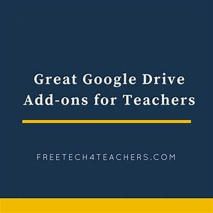 great google drive add ons chrome extensions for With best google docs add ons for teachers