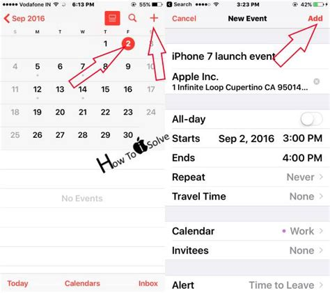 how to add events to iphone calendar how to delete update or add event in iphone calendar ios 10