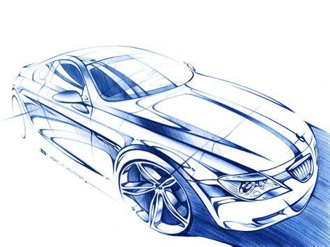 """car Sketch With A Ballpoint Pen"""