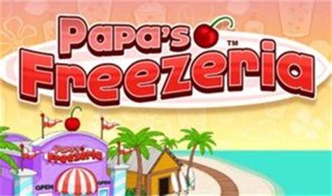 jeu de cuisine papa papa 39 s freezeria en ligne joue gratuitement sur