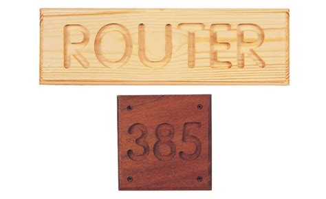 carve letters  numbers   router