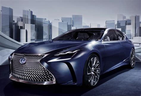 lexus ls 2018 lexus ls might get turbo engine autoevolution