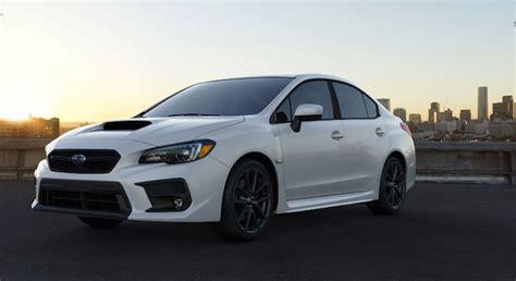 2018 Subaru Wrx/sti Is Stand-alone Alg Residual Value Top