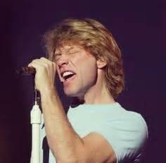 Smiling Jon Bon Jovi Wearing His Wedding Ring For The