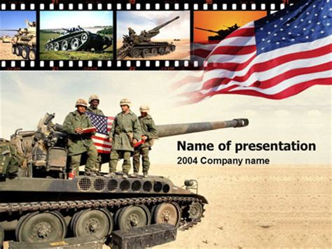 military powerpoint american army presentation template for powerpoint and keynote ppt