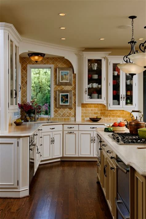 kitchen design and color beautiful traditional kitchen in vienna traditional 4386