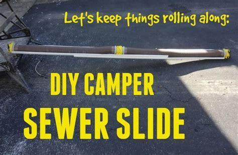 diy sewer hose support campers diy  crafts  diy camper