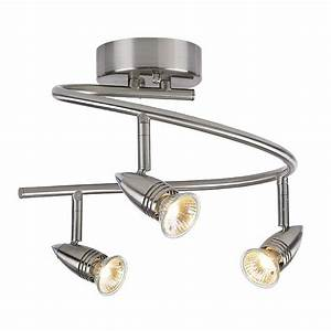 Pro Track 3-light Spiral Ceiling Light Fixture