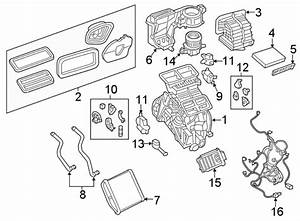 Jeep Renegade Hvac System Wiring Harness  W  Climate