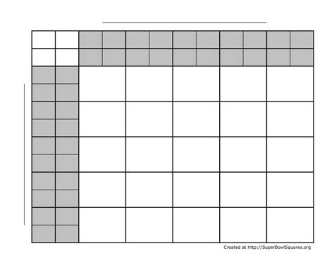 football squares super bowl squares play football