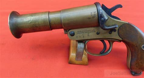 Webley & Scott Ww1 Mkiii Flare Pistol