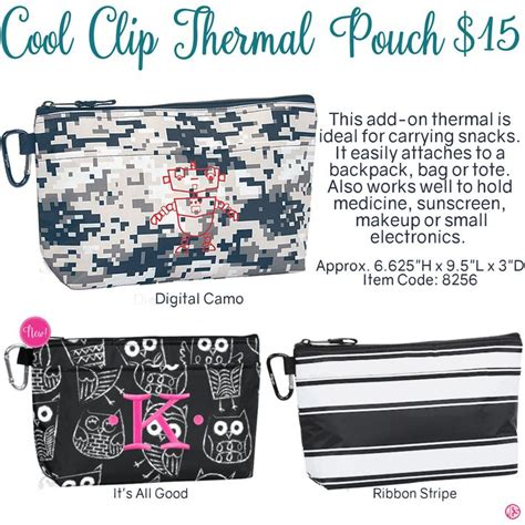 Cool Clip 8 Best Thirty One Cool Clip Thermal Pouch Images On