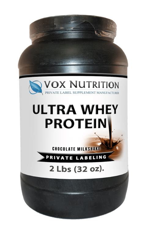 Private Label Whey Protein Powder | Vox Nutrition