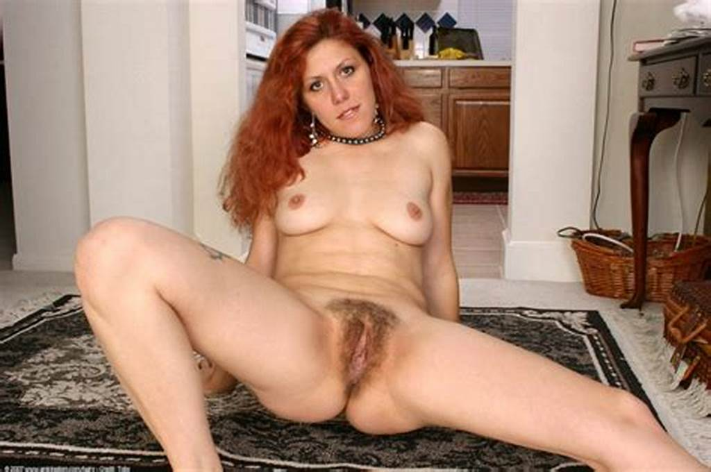 #Curly #Redhead #Older #Mom #Spreading #On #The #Floor