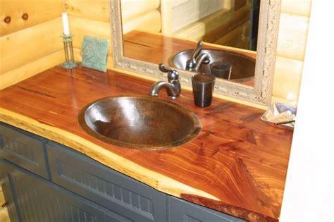 cedar Bathroom Vanities     Picture Finished Bathroom