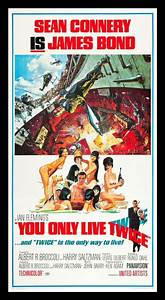 YOU ONLY LIVE TWICE CineMasterpieces THREE 3 SHEET 1967 ...