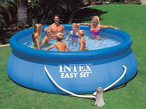 Easy Set Pool : 8ft x 30 inch intex easy set inflatable ring above ground garden pool ~ Orissabook.com Haus und Dekorationen