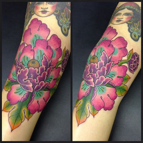 Japanese Flowers Tattoo Names And Their Meanings Peony