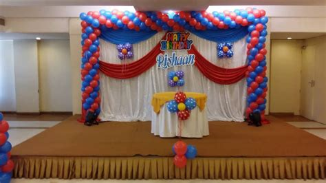 birthday balloon decorating ideas mobile