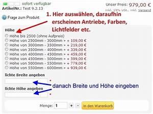 Zimmertüren Maße Norm : norm rolltor f r lichte ma e 2500mm x 2500mm 699 00 ~ Orissabook.com Haus und Dekorationen