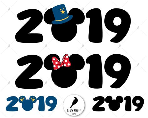 Mickey 2019 Svg New Year Mickey Svg Mickey 2019 Clipart
