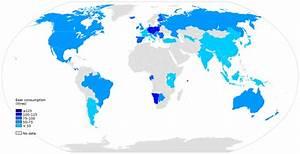 各国人均啤酒消费量列表 - 维基百科,自由的百科全书