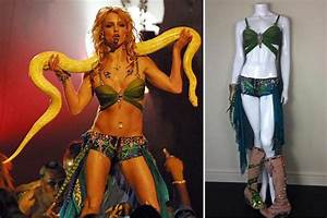 Britney Spears' iconic Slave 4 U costume goes on sale on ...