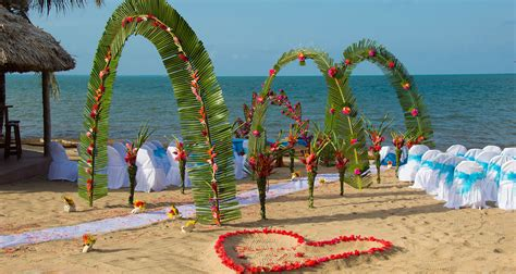 Belize All Inclusive Beach Wedding Package
