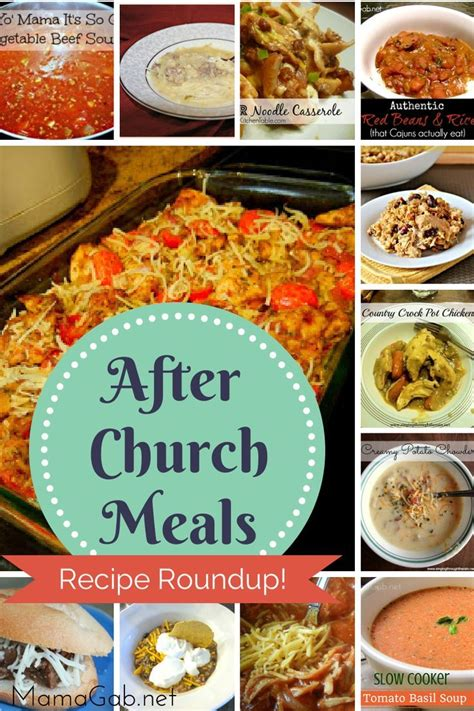 easy c dinner recipe roundup 1 easy dinners pinterest sunday recipes meals and churches
