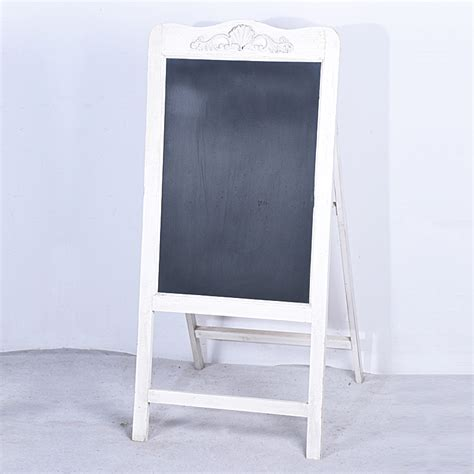 wholesale wood  standing folding shabby chic framed chalkboard buy chalkboard framed
