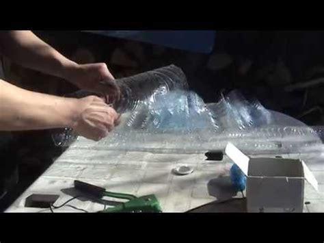 reciclajeconstruccion tejado  botellas de plastico