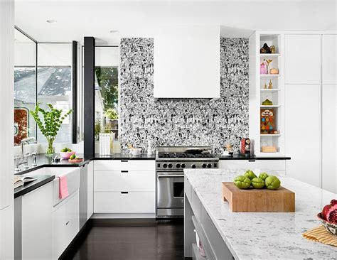 kitchen wallpaper ideas wall decor  sticks