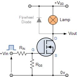 Mosfet Switch Using Power Switching