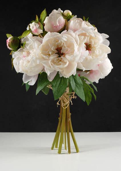 peony bouquet cream cerise