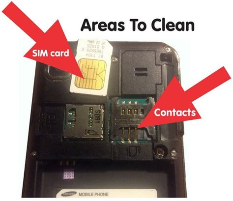 how to clean phone what to do if sim card in phone is not recognized or