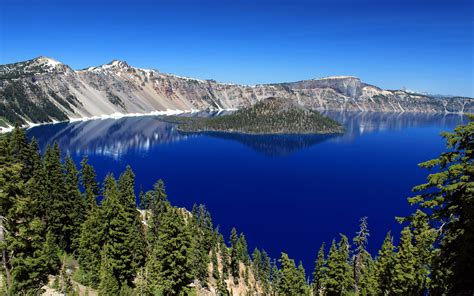 Crater Lake Wallpaper For Desktop