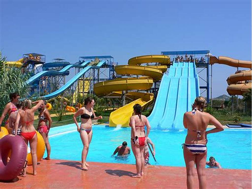 #Teenage #Thrills #At #The #Waterpark #On #Zakynthos