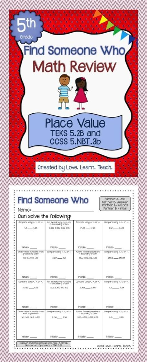 460 Best Images About 5th Grade Math On Pinterest  5th Grade Math, Assessment And Fifth Grade Math