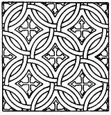 Mosaic Coloring Pattern Printable Roman Patterns Square Clipart Printables Template Unique Etc Mystery Usf Edu Getcolorings Coloringhome sketch template