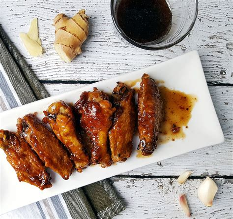 In fact, the teriyaki wings at buffalo wild wings are anita 1 bottle (10 ounces) teriyaki marinade sauce (recommended: Soy Free Teriyaki Chicken Wings • OCD Kitchen