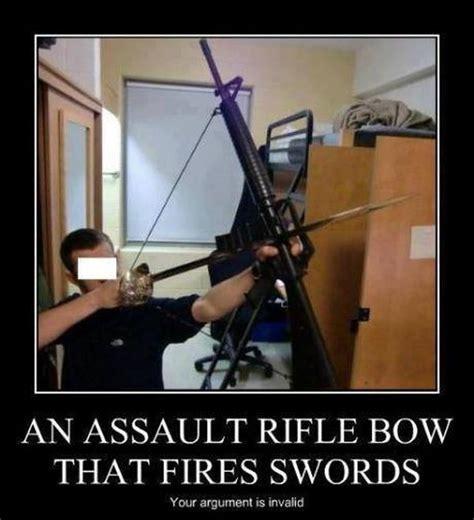 Bow Meme - an assault rifle bow