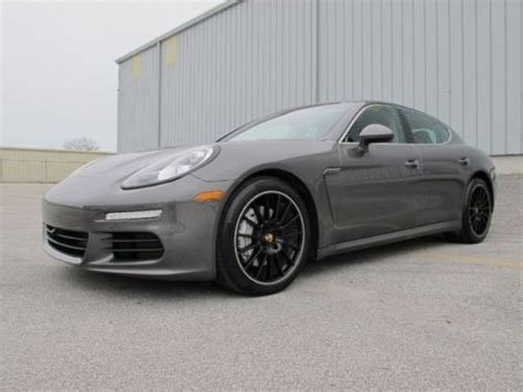 Purchase Used 2014 Porsche Panamera S, Agate Grey/black