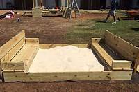how to make a sandbox How to Build a Sandbox with Folding Lid and Seats | KaBOOM!