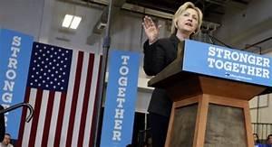 Hillary Clinton Elicits Tepid Response in Economic Speech ...