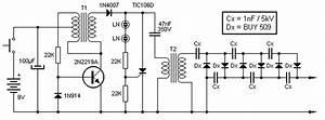 Converter 9v To 13 5kv Circuit Circuit Diagram World