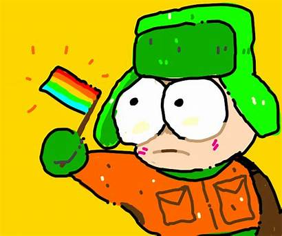 Lgbt Broflovski Kyle Holds Flag Drawception