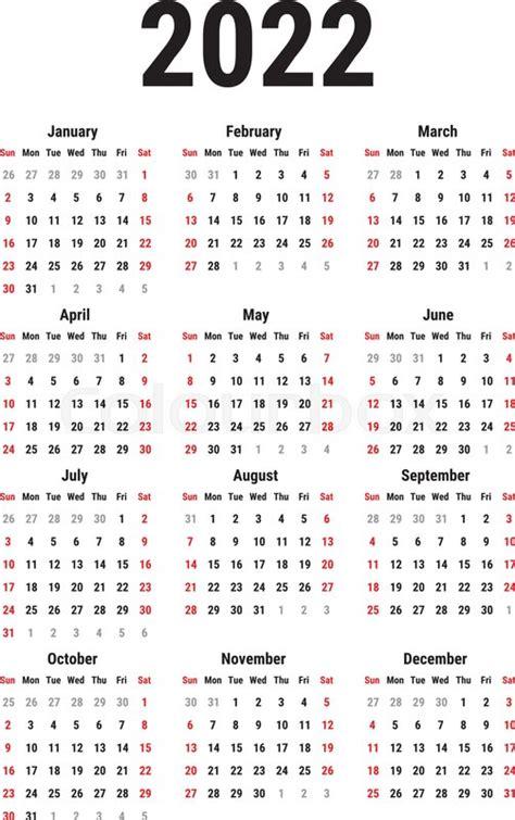 calendar   year  white stock vector colourbox
