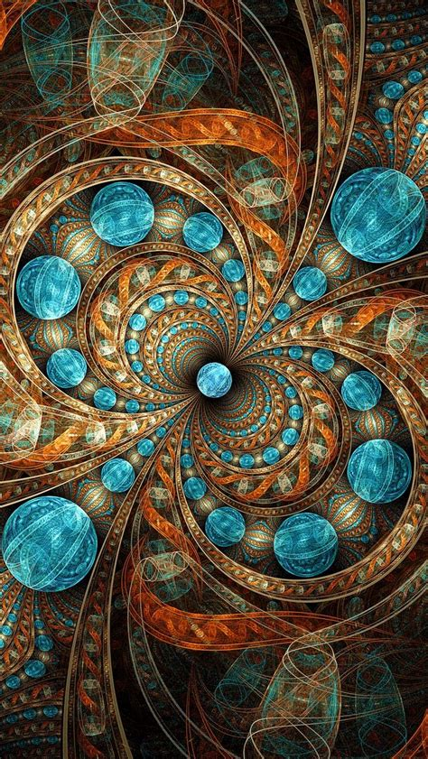 pin  delicate fractals fabulous abstracts natures